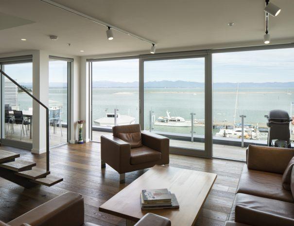 01 - View to Port, indoor outdoor flow, renovation